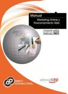 Lofficielhommes.es Manual Marketing Online Y Posicionamiento Web: Formacion Para El Empleo Image