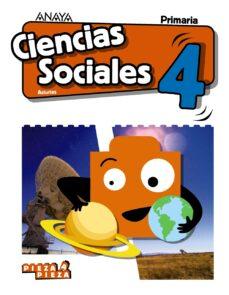 CIENCIAS SOCIALES 4º EDUCACION PRIMARIA CAST ED 2019 ASTURIAS SERIE PIEZA A PIEZA