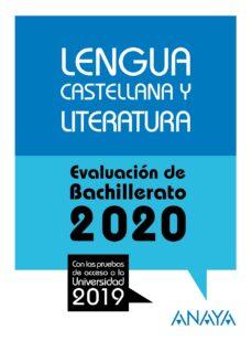 Vinisenzatrucco.it Lengua Castellana Y Literatura: Evaluacion De Bachillerato 2020 - Prueba Acceso Universidad Image