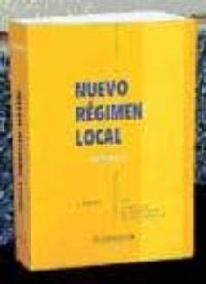 Concursopiedraspreciosas.es Nuevo Regimen Local (Vol. Ii) (4ª Ed.) Image