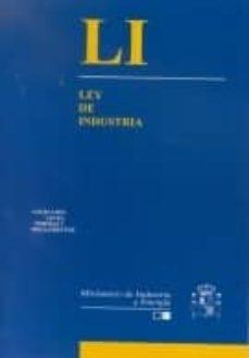 Descargar LEY DE INDUSTRIA gratis pdf - leer online