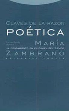 Lofficielhommes.es Claves De La Razon Poetica: Maria Zambrano, Un Pensamiento En El Orden Del Tiempo Image