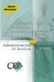 Titantitan.mx Cuerpo De Gestion Procesal Y Administrativa De La Administracion De Justicia. Promocion Interna: Temario (Vol. I) Image
