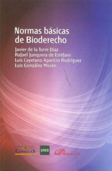 Audio gratis para descargas de libros. NORMAS BASICAS DE BIODERECHO (Literatura española)