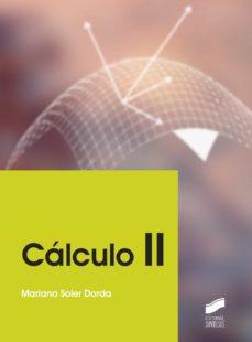 calculo ii-mariano soler dorda-9788490771075