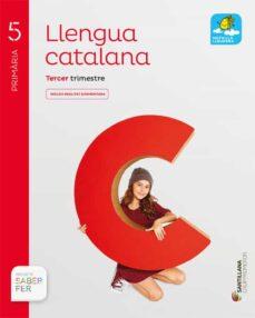Canapacampana.it Llengua 5º Primaria Catala Saber Fer Ed 2017 (Globalizado) Image