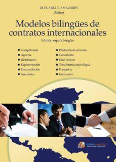 modelos bilingues de contratos internacionales-olegario llamazares-9788492570775