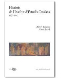 Inmaswan.es Historia De L Institut D Estudis Catalans (1907-1942) Image
