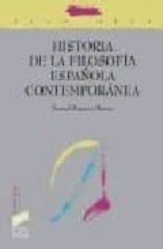 Comercioslatinos.es Historia De La Filosofía Española Contemporanea Image