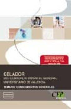Cdaea.es Celador Del Consorcio Hospital Universitario De Valencia. Temario Conocimientos Generales Image