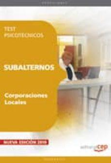 Encuentroelemadrid.es Subalternos De Corporaciones Locales. Test Psicotecnicos Image