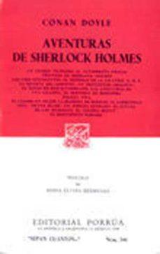 Carreracentenariometro.es Aventuras De Sherlock Holmes Image