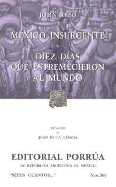 mexico insurgente-john reed-9789700731575