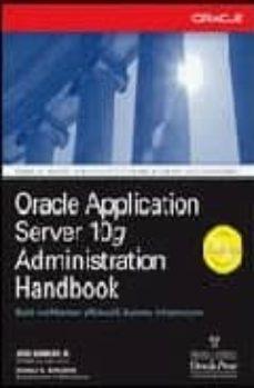 Javiercoterillo.es Oracle Application Server 10g Administration Handbook Image