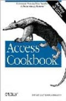 access cookbook (2nd edition includes cd rom)-paul litwin-ken getz-9780596006785