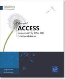 Descargar ebooks ippad epub ACCES 2019: FUNCIONES BASICAS 9782409022685 de  en español