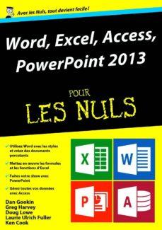 word, excel, powerpoint et access 2013 mégapoche pour les nuls (ebook)-laurie ulrich fuller-doug lowe-greg harvey-9782754056885