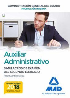 auxiliar administrativo de la administración general del estado promoción interna-9788414214985