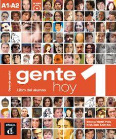 Libros gratis para descargar en mi ipod GENTE HOY 1 LIBRO DEL ALUMNO en español