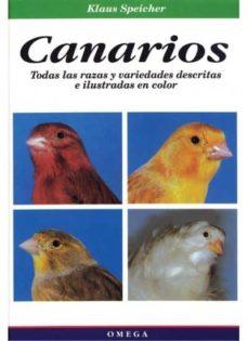 canarios: todas las razas y variedades descritas e ilustradas en color-klaus speicher-9788428210485