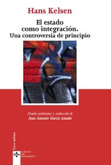el estado como integracion: una controversia de principio-hans kelsen-9788430949885