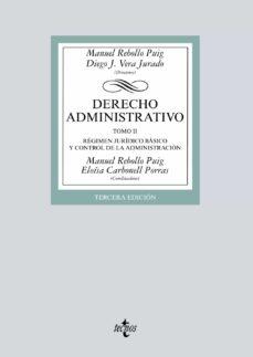 Descargar DERECHO ADMINISTRATIVO  : REGIMEN JURIDICO BASICO Y CONTROL DE LA ADMINISTRACION gratis pdf - leer online