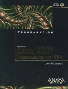 Descargar EXCEL 2007: PROGRAMACION CON VBA gratis pdf - leer online