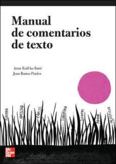 Permacultivo.es Comentarios De Textos Lengua Y Literatura 1º Bach (Serie Schaum) Image