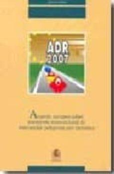 Mrnice.mx Adr-2007: Acuerdo Europeo Sobre Transporte Internacional De Merca Ncias Peligrosas Por Carretera Image