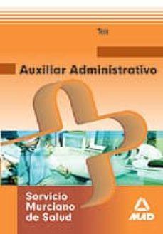Garumclubgourmet.es Auxiliar Administrativo Del Servicio Murciano De Salud. Test Image