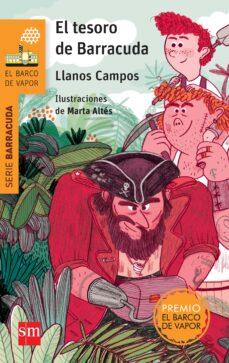 el tesoro de barracuda-llanos campos martinez-9788467583885