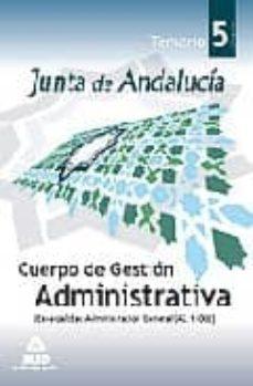 Inmaswan.es Cuerpo De Gestion Administrativa De La Junta De Andalucia (Especi Alidad Administracion General) (A2.1100). Volumen V Image