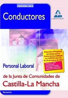 conductores. personal laboral de la junta de comunidades de casti lla la mancha. temario-9788467637885