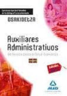 Padella.mx Auxiliares Administrativos Del Servicio Vasco De Salud-osakidetza Ejercicios Tipo Test Basados En La Bibliografía Recomendada Image