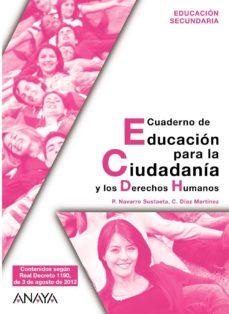 Srazceskychbohemu.cz Educación Para La Ciudadanía Y Los Derechos Humanos. Cuaderno. Image