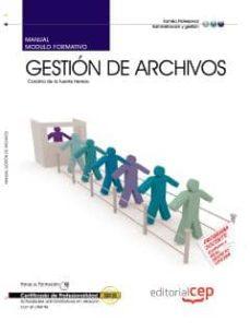 Ojpa.es Manual Gestion De Archivos. Certificados De Profesionalidad Image