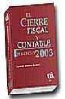 Ojpa.es El Cierre Fiscal Y Contable: Ejercicio 2003 Image