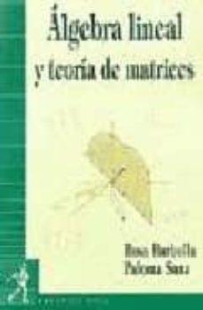 Followusmedia.es Algebra Lineal Y Teoria De Matrices Image