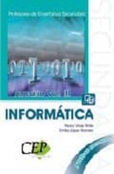 Iguanabus.es Temario Oposiciones Vol. Iii. Cuerpo De Profesores De Enseñanza S Ecundaria. Informatica Image