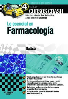 Descarga gratuita de libros de venta. LO ESENCIAL EN FARMACOLOGIA in Spanish 9788490223185 ePub de ERIC BATTISTA