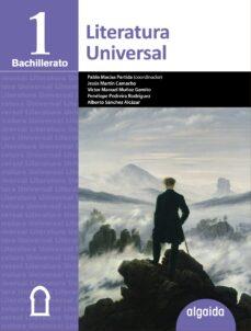 literatura universal 1º bachillerato-9788490672785
