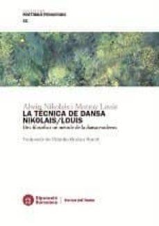 Inmaswan.es La Tecnica De Dansa Nikolais/louis Image