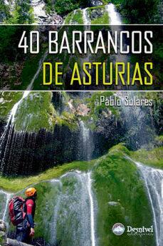 40 barrancos de asturias-pablo solares-9788498291285