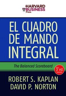 el cuadro de mando integral (3ª ed.)-robert s. kaplan-david p. norton-9788498750485