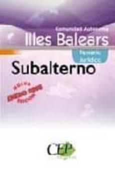 Permacultivo.es Oposiciones Subalterno. Comunidad Autonoma Illes Balears. Temario Juridico Image