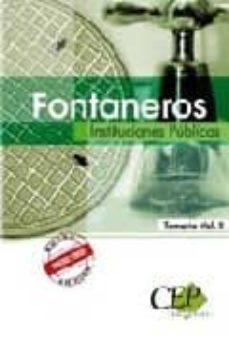 Premioinnovacionsanitaria.es Fontaneros Instituciones Publicas. Temario Vol. Ii Image
