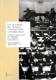 los origenes del derecho internacional contemporaneo-yolanda gamarra chopo-9788499113685