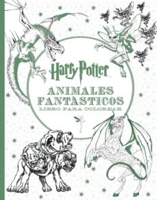 harry potter - animales fantasticos libro para colorear-9788893670685