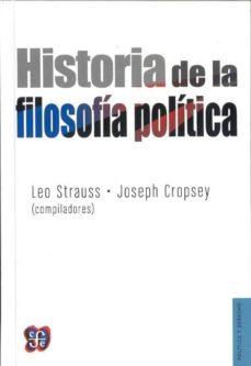 historia de la filosofia politica (cartone)-leo (comp.) strauss-joseph (copm.) cropsey-9789681637385