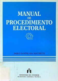 Inmaswan.es Manual De Procedimiento Electoral Image